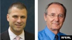 RFE/RL Interim Managers John Giambalvo and Nenad Pejic