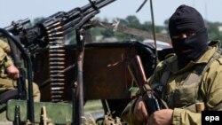Проросійські бойовики біля Луганська, 2 липня 2014 року