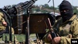 Бойовики на околицях Луганська, 2 липня 2014 року