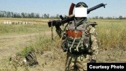 Беларускі салдат з украінскага добраахвотніцкага палку «Азоў»