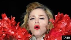 Мадонна на концерте в Москве