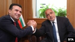 Премиерите на Македонија и Бугарија Зоран Заев и Бојко Борисов