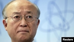 IAEA chief Yukiya Amano was optimistic ahead of his talks with Iranian officials.