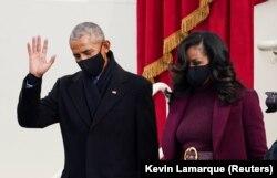 Bivši predsjednik Barack Obama i bivša prva dama Michelle Obama