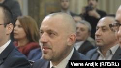 Milan Radoičić (na slici) nije cvećka, kaže Aleksandar Vučić