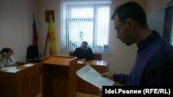 Дмитрий Семенов в суде