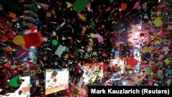Njujork, konfete na dočeku Nove godine