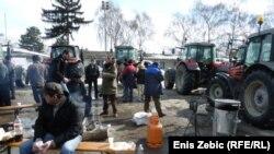 Nepostojanje ozbiljne Vladine izvozne politike: Protest poljoprivrednika u Hrvatskoj