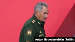 Russian Defense Minister Sergei Shoigu (file photo)