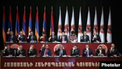 Armenia -- The ruling Republican Party holds a congress in Yerevan, 15Dec2012
