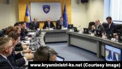 Mbledhja e Qeverisë së Kosovës, foto nga arkivi.