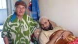 Наим Каримов бо модари 84-солааш Майгун Каримова