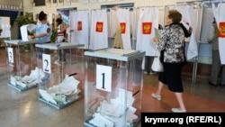 Votimet për zgjedhjet parlamentare ruse në Krime