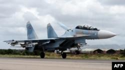 تصویری آرشیوی از سوخو ۳۵ روسیه در سوریه