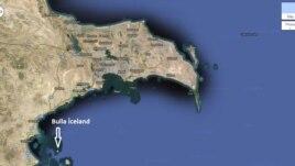 Abşeron yarımadasının xəritəsi