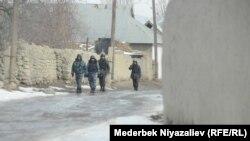Баткен милициясы. Көк-Таш айылы. 11-январь, 2020-жыл.
