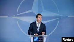 Генералниот секретар на НАТО Андрес Фог Расмусен.