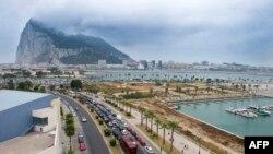 Вид на Гибралтарскую скалу