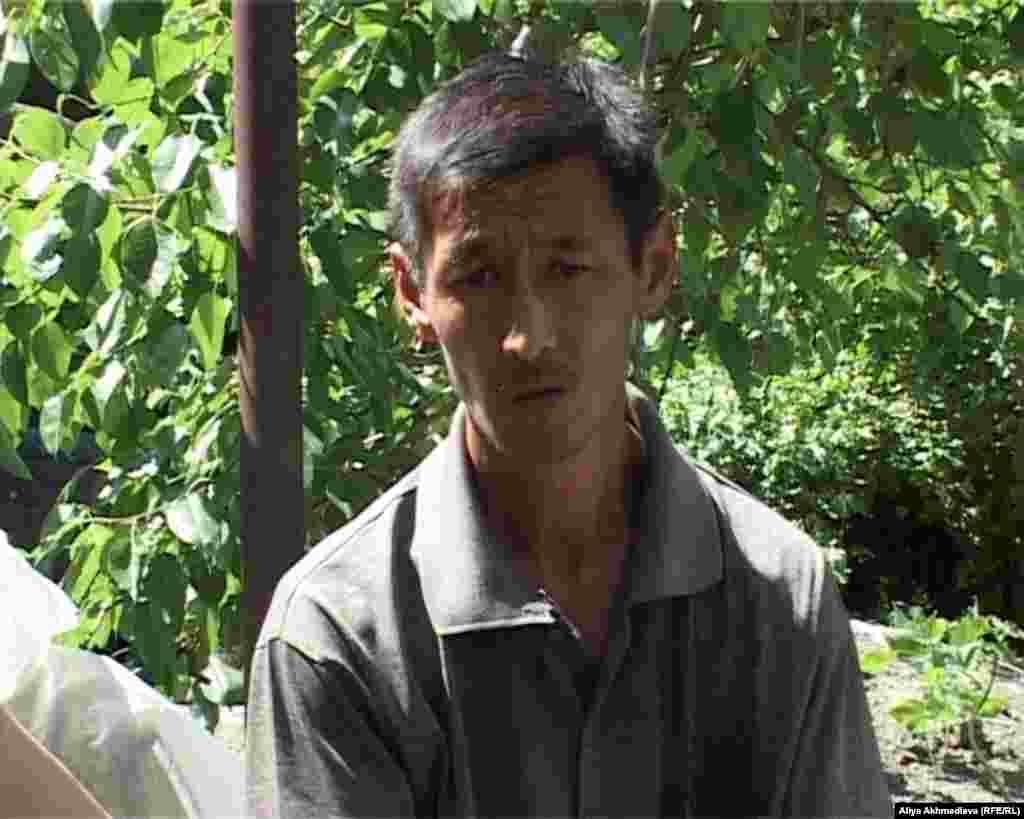 Тимур Ким,брат погибшего егеря Руслана Кима. Алматинская область.