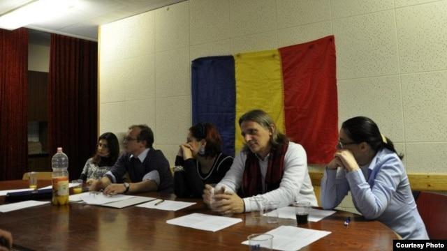 Moldoveni și universitari la Geneva