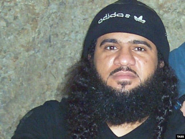 Saudi-born militant Idb al-Khattab (1969-2002)