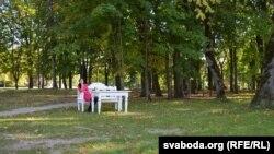 «Пад даўніну»: у паркавым антуражы