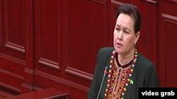 Уполномоченный по правам человека в Туркменистане Яздурсун Гурбанназарова