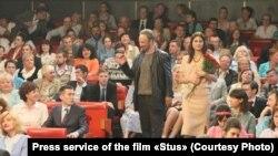 Сцена зі зйомок стрічки «Стус»