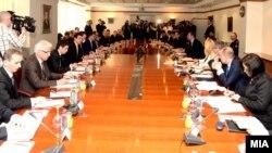 Sednice vlada Srbije i Makedonije