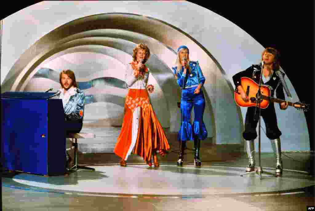 "Eurovision will always be associated with Swedish pop group ABBA, whose illustrious international career was launched when it won the contest with ""Waterloo"" in 1974."