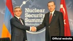 Serzh Sarkisian və Recep Tayyip Erdoğan - 2010