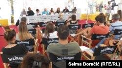 """Ekipa rumunjskog filma """"Carmen"""" na predstavljanju medijima u Sarajevu"""