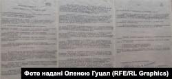 Рішення військового трибуналу про безпідставну репресію Домброва, Федоровича та Недзельського