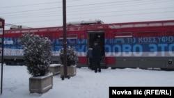"""Поезд с надписью: """"Косово – это Сербия"""""""