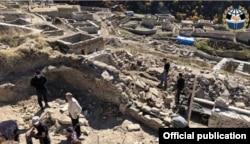 Раскопки в чеченском селении Хой