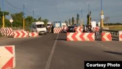 Административная граница с Крымом. Чонгар