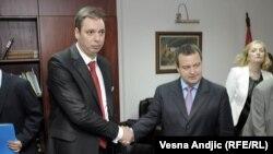 Aleksandar Vučić i Ivica Dačić