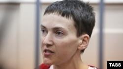 Надежда Савченко в суде (Москва, 10 февраля 2015 года)