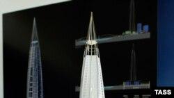 Башня «Газпром-сити» — вершина высотного строительства на Охте
