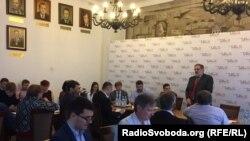 Кшиштоф Становський (спікер), екс-міністр іноземних справ Польщі, екс-голова Фонду Міжнародної Солідарності (Варшава)