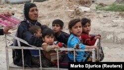 Сириядағы балалар (Көрнекі сурет).