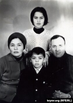 Семья Муслимовых, 1975 год. Фото из семейного архива