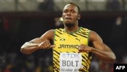 Ямайский спринтер Усейн Болт стал в Пекине 11-кратным чемпионом мира