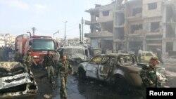 Фото ймовірних руйнувань у Хомсі 21 лютого