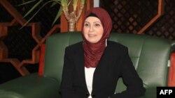 ذكرى علوش في منصب امين العاصمة بغداد 26 شباط 2015