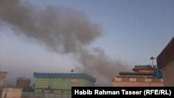 Owganystanyň Ghazni welaýatynda awtoulagda goýlan bomba partladyldy, 18-nji maý, 2020