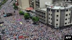 Վենեսուելա - Բողոքի ցույցը Կարակասում, 1-ը սեպտեմբերի, 2016թ․