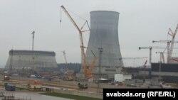 Будаўніцтва АЭС на Астравеччыне, архіўнае фота