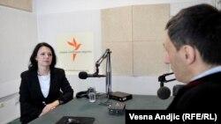 Sanda Rašković - Ivić u razgovoru sa novinarom RSE Milošem Teodorovićem