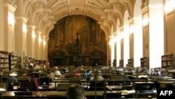 Praqada Klementinum kitabxanası
